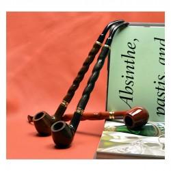 BENT ALBERT (no.15) long churchwarden pipe