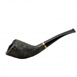 INDIGO no. 310 bent handmade pipe