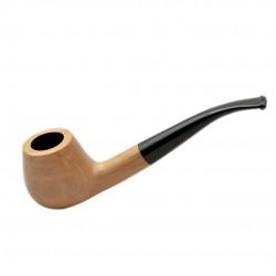 CORSAR no. 35 bent prince pearwood tobacco smoking pipe by Mr. Brog (Poland)