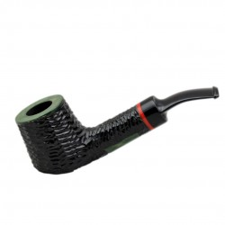 AMIGO no. 51 pearwood rustic bent billiard tobacco smoking pipe by Mr. Brog (P..