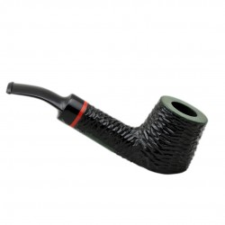 AMIGO no. 51 pearwood rustic bent billiard tobacco smoking pipe by Mr. Brog (Poland)