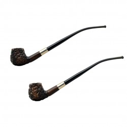 HOBBIT #59 brown churchwarden pipe