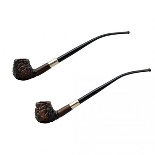 HOBBIT #59 brown churchwarden pipe
