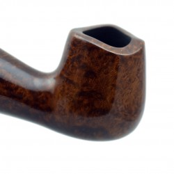 STANDUP no. 89 briar chubby bent brown billiard tobacco smoking pipe by Mr. Brog (Poland)