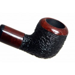 POZEN #102 briar billiard rustic tobacco smoking pipe by Mr. Brog (Poland)