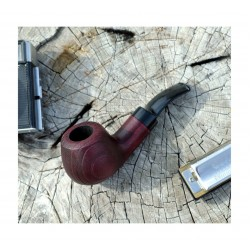 CHERRY #42 red tobacco smoking pipe