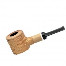 HAMMER no. 62 straight poker rustic beige pipe