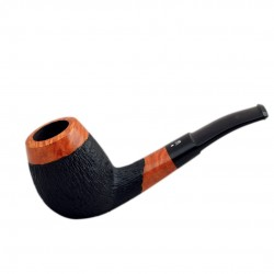No. 51 briar brandy orange furrowed pipe