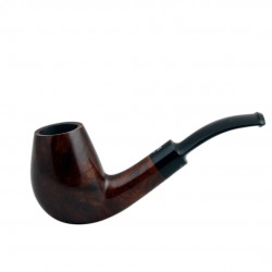 No. 78 briar brandy brown smooth pipe
