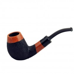 No. 79 briar brandy furrowed pipe