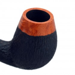 No. 79 briar brandy furrowed pipe