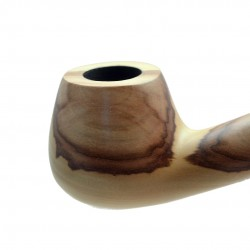 CHURCHWARDEN pearwood beige long tobacco smoking pipe by Mr. Brog (Poland)