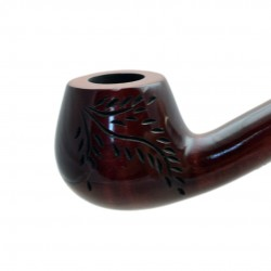 CHURCHWARDEN pearwood red long tobacco smoking pipe by Mr. Brog (Poland)