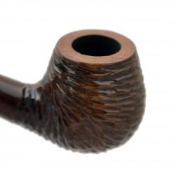 HOBBIT #59 brown rustic churchwarden pipe