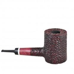 LUMBERJACK massive rustic red pearwood tobacco smoking pipe by Mr. Brog (Poland)