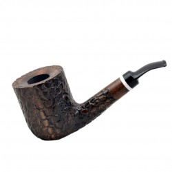 MASON massive billiard full bent pearwood tobacco smoking pipe by Mr. Brog (Poland)