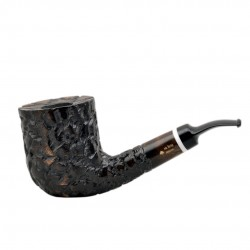 MASON massive billiard full bent brown pearwood tobacco smoking pipe by Mr. Br..