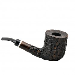 MASON massive billiard full bent brown pearwood tobacco smoking pipe by Mr. Brog (Poland)