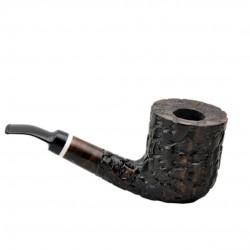 MASON massive billiard full bent brown pearwood tobacco smoking pipe by Mr. Brog (Poland)