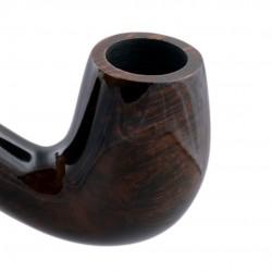 WALRUS TUSK (no. 111) bent billiard smooth pipe