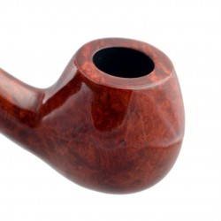 PRINCE #65 bent tobacco smoking pipe