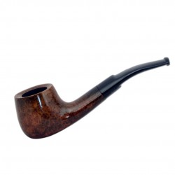 ALFA #98 briar smooth brown bulldog tobacco smoking pipe