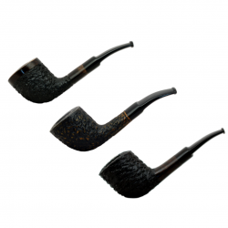 BETA #99 briar bent zulu brown rustic pipe