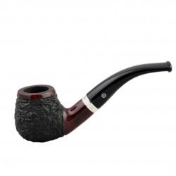 CONSUL #82 rustic red bent apple pipe