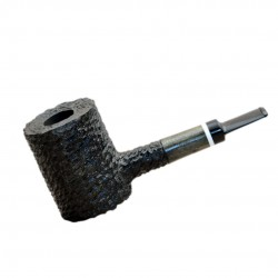LUMBERJACK massive rustic green pearwood tobacco smoking pipe by Mr. Brog (Poland)