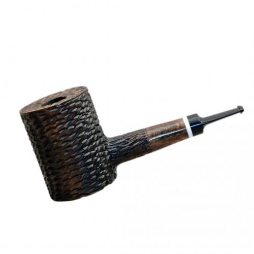 LUMBERJACK massive rustic brown pearwood tobacco smoking pipe by Mr. Brog (Poland)