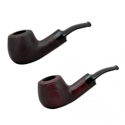 CHERRY  #42 dark red tobacco smoking pipe
