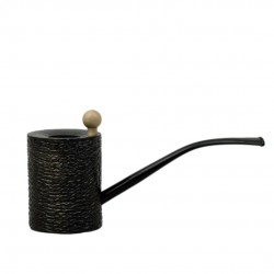 YERBA no. 306 massive bi-directional pearwood pipe (ebony)