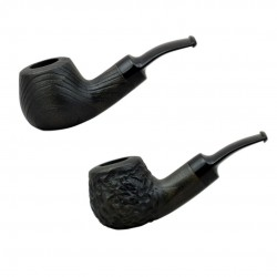 CHERRY  #42 green tobacco smoking pipe