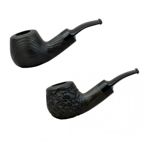 CHERRY  #42 green tobacco smoking pipe