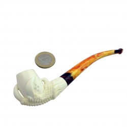 Eagle's claw meerschaum pipe 02