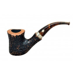 M.P.B. 'NAIF' (sabbiata 7069) briar bent tobacco smoking pipe from Brebbia (Italy)