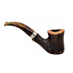 M.P.B. 'NAIF' (sabbiata 7069) briar bent tobacco smoking pipe from Brebbia (Italy)