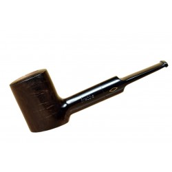 'JUNIOR' (noce 2710) briar smooth handmade poker brown tobacco smoking pipe from Brebbia (Italy)