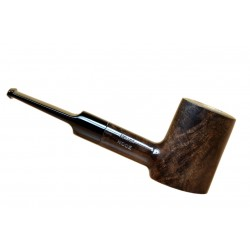 JUNIOR (noce 2710) briar smooth handmade poker brown tobacco smoking pipe from Brebbia (Italy) 03