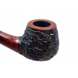 'ATU' no. 129 briar bent small rustic pipe by Mr. Brog (Poland)