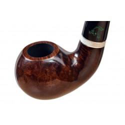 FROG no. 100 briar oom paul smooth dark tobacco smoking pipe by Mr. Brog (Poland)