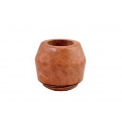 FALCON international filter pipe: bent stem with Hunter bulldog bowl (UK)