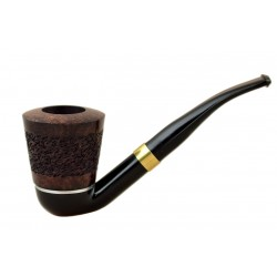 FALCON international filter pipe: bent stem with classic range rustic hyperbole bowl (UK)