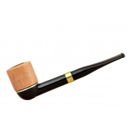 Falcon international filter pipe: straight stem with Hunter dublin bowl (UK)
