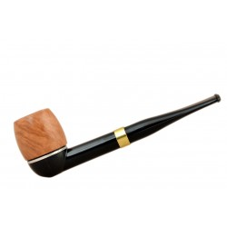 FALCON international filter pipe: straight stem with Hunter billiard bowl (UK)
