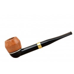 FALCON international filter pipe: straight stem with Hunter bulldog bowl (UK)
