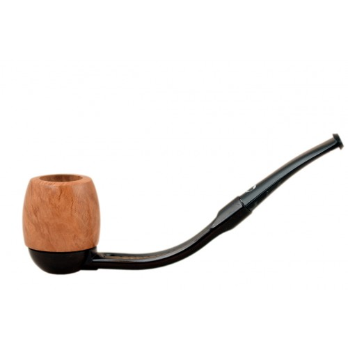 FALCON extra pipe: bent stem with Hunter billiard bowl (UK)