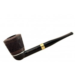 FALCON international filter pipe: straight stem with classic range rustic hyperbole bowl (UK)