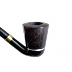 Falcon international filter pipe: bent stem with classic range Hyperbole bowl (UK)