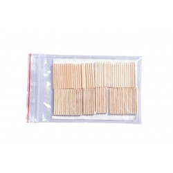 6mm balsa filters (40 pack) by Gasparini (Italy)